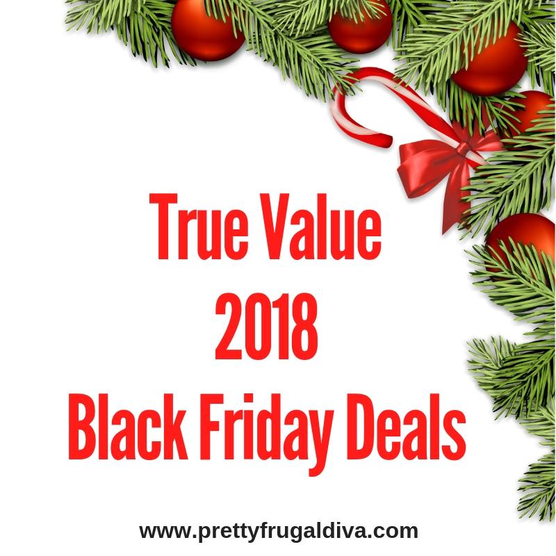 2018 True Value Black Friday Sales Ad