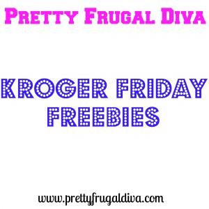 Kroger Friday Freebie