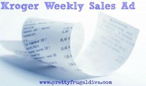 Kroger Weekly Sales Ad 7/26 -8/1